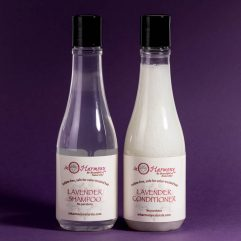 Organic sulfate-free Lavender Shampoo and Conditioner